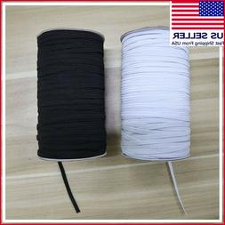 """#1 Elastic Band 1/5"""" 5mm 1/8"""" 3mm Width Sewing Trim String D"""