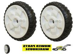 """NEW REPLACEMENT TORO 8 INCH DRIVE WHEELS FWD 22"""" RECYCLER 1"""