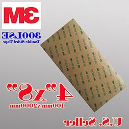 3m 300lse 4 X8 Heavty Duty Double Sided Sticky Adhesive Shee