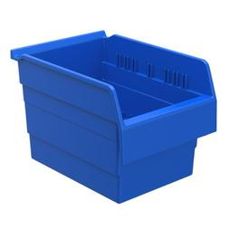 Akro-Mils 30880 ShelfMax 8 Plastic Nesting Shelf Bin Box, 12