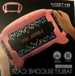 7 - 8 Inch Pink Flexible Silicone Tablet Case - Ipad Galaxy