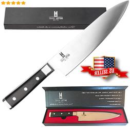 8 Inch Professional Chef Knife Cutting Meat & Fruit Best for