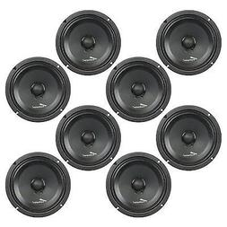 8 inch 250 watt low mid frequency