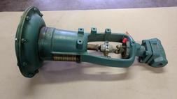 "HONEYWELL 8 INCH  DIAPHRAGM ACTUATOR WITH 1/2"" NC VALVE NOS"