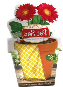 8 inch Plant Sox Flower Pot Cover Fits Pots 7 to 9 Inches Wa