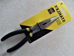 Stanley 8 Long Nose Pliers - 8 Length - Forged Steel - Rust
