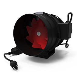 Growneer 8 Inch 800 CFM Inline Duct Fan w/ Variable Speed Co