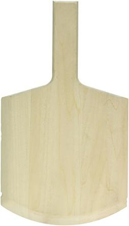 """American Metalcraft 814 Wooden Pizza Peel with Handle, 14"""" O"""