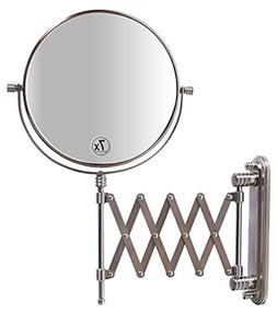 DecoBros 8-Inch Two-Sided Extension Wall Mount Mirror with 7