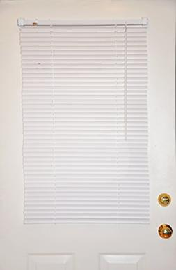 Magne 40-Inch Vinyl Mini Blind with 1-Inch Slats and 25-Inch