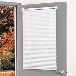 Magne Blind Aluminum magnetic Mini Blind 25Wx68 1/2L in Whit