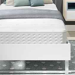 Signature Sleep Contour Encased Coil 8 Inch Mattress, Twin