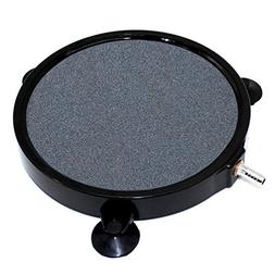 GROWNEER 8 Inch Air Stone Disc w/Shell and Suction Cups Micr