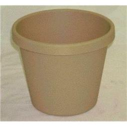 Akro-mils Classic Flower Pot Tan 8 Inch Pack Of 24 - 12008SA