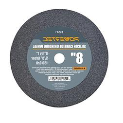 "POWERTEC 15511 5/8"" Arbor 150-Grit Silicon Carbide Grinding"