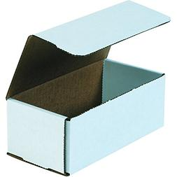 Boxes Fast BFM843 Corrugated Cardboard Mailers, 8 x 4 x 3 In