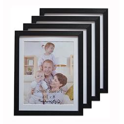 Giftgarden Black 8x10 Picture Frame Wall Decor for 8 by 10 I
