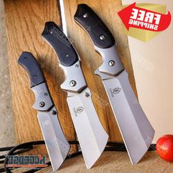 buckshot knives cleaver combo 3 pc black