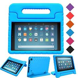 MENZO Case for Amazon All-New Fire HD 8 2018/2017 - Shockpro