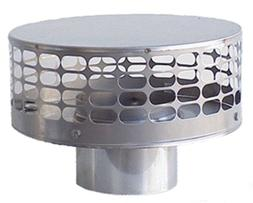 New stamp 7 Inch round Stainless Steel Liner Top Chimney Cap