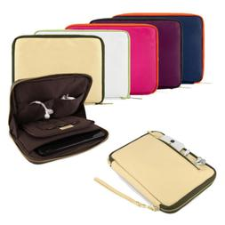 8 Inch Tablet Sleeve Case Notebook Faux Leather Bag For Appl