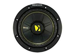 "Kicker CWCS84 CompC 8"" Subwoofer Single Voice Coil 4-Ohm"