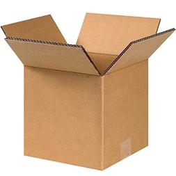 """Boxes Fast 8"""" x 8"""" x 8"""" Double Wall Corrugated, Heavy-Duty C"""