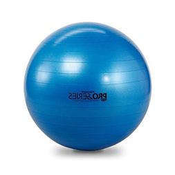 TheraBand Exercise and Stability Ball – Pro Series Blue, 7