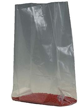 "Bauxko 8"" x 4"" x 12"" Gusseted Poly Bags, 2 Mil, 1000-Pack"