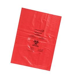 "Heathrow Scientific HS10320 Biohazard Disposable Bag, 8"" x 1"