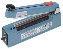 """8"""" Impulse Poly Bag Sealer w/ Cutter 6 mil Thickness 2mm wid"""