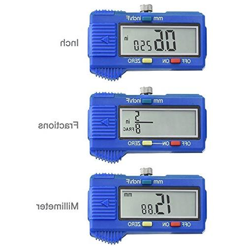 """Caliper with LCD 10.9"""", Clear"""