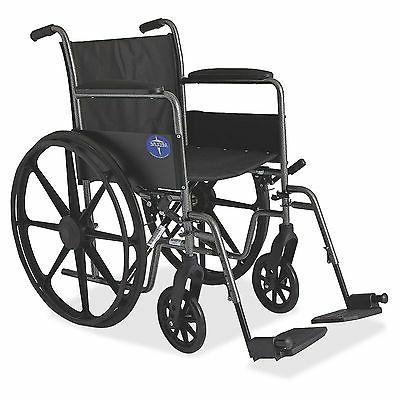 Medline 18 inch K1 Lightweight Folding Manual Wheelchair MDS