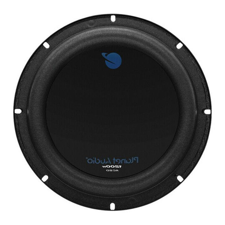 Planet Audio AC8D Anarchy Subwoofer 8 Inch 1200 Watts Dual B