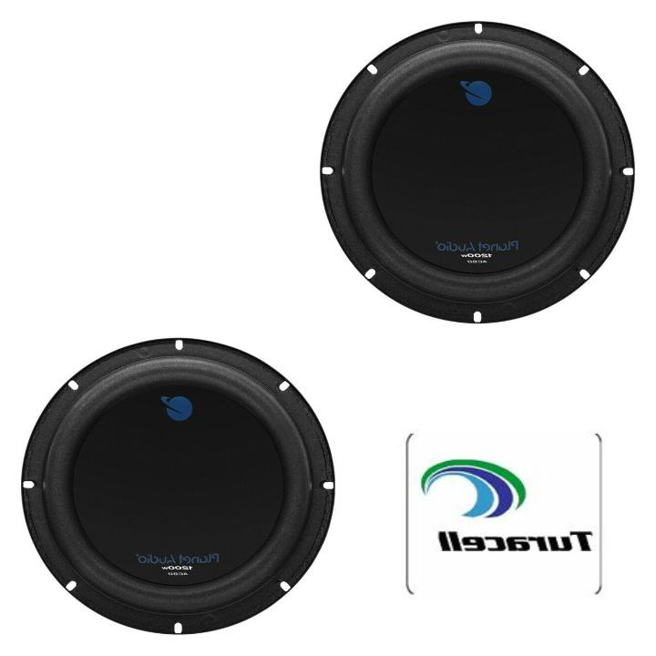 2 ac8d anarchy subwoofer 8 inch 1200