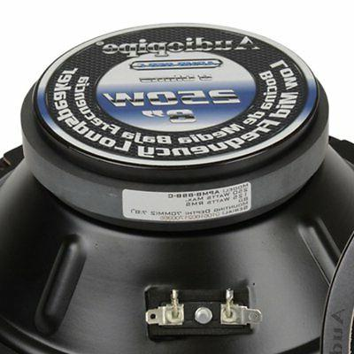 2) Audiopipe Inch Low Frequency Midwoofer Car