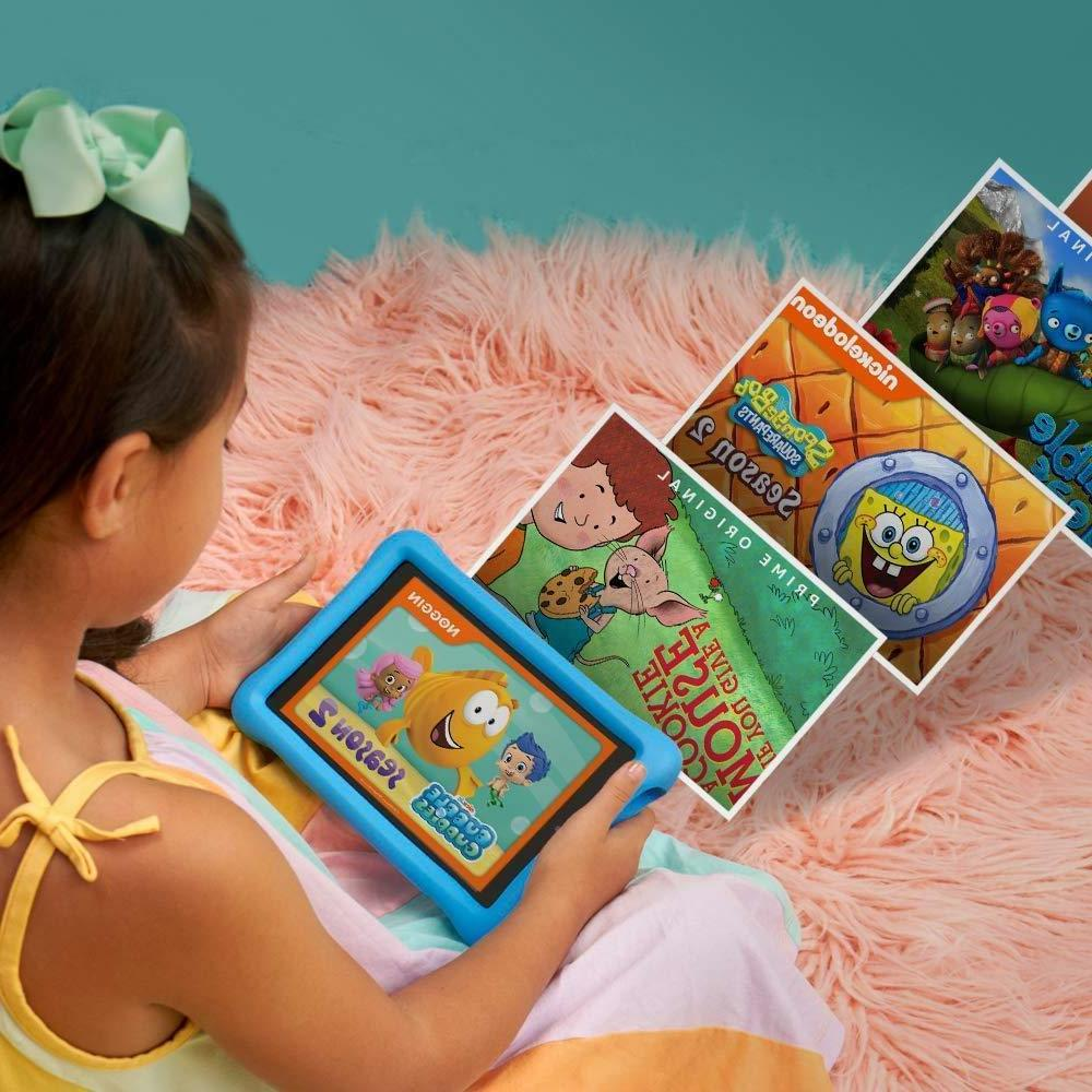 2018 All-New 8Th Kids Edition Tablet, 8 Display, -Blue