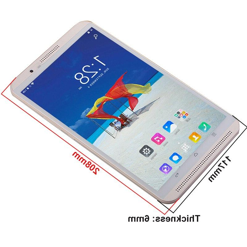 2019 new <font><b>inch</b></font> tablet pc octa core RAM 6GB ROM 1280*800 Bluetooth SIM card phone phablet