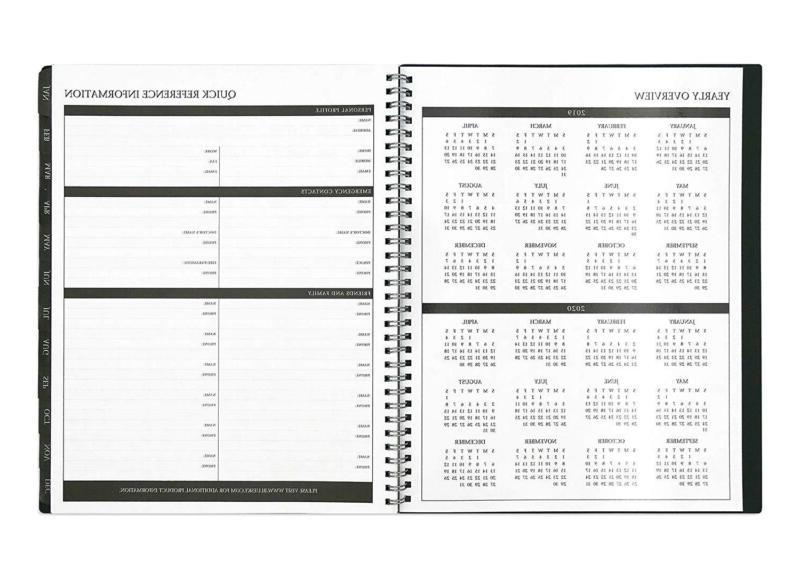 2019 & Monthly Planner, Binding Enterprise