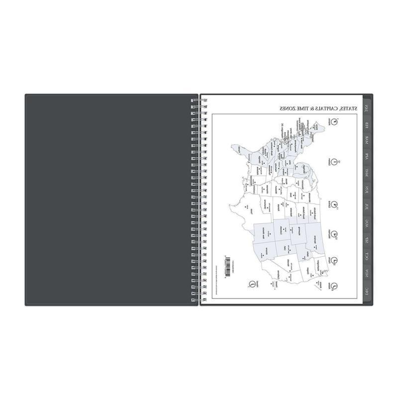 2019 Weekly & Monthly Planner, Flexible Binding Enterprise
