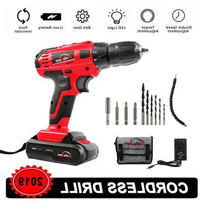 20v max brushed powerful cordless drill driver