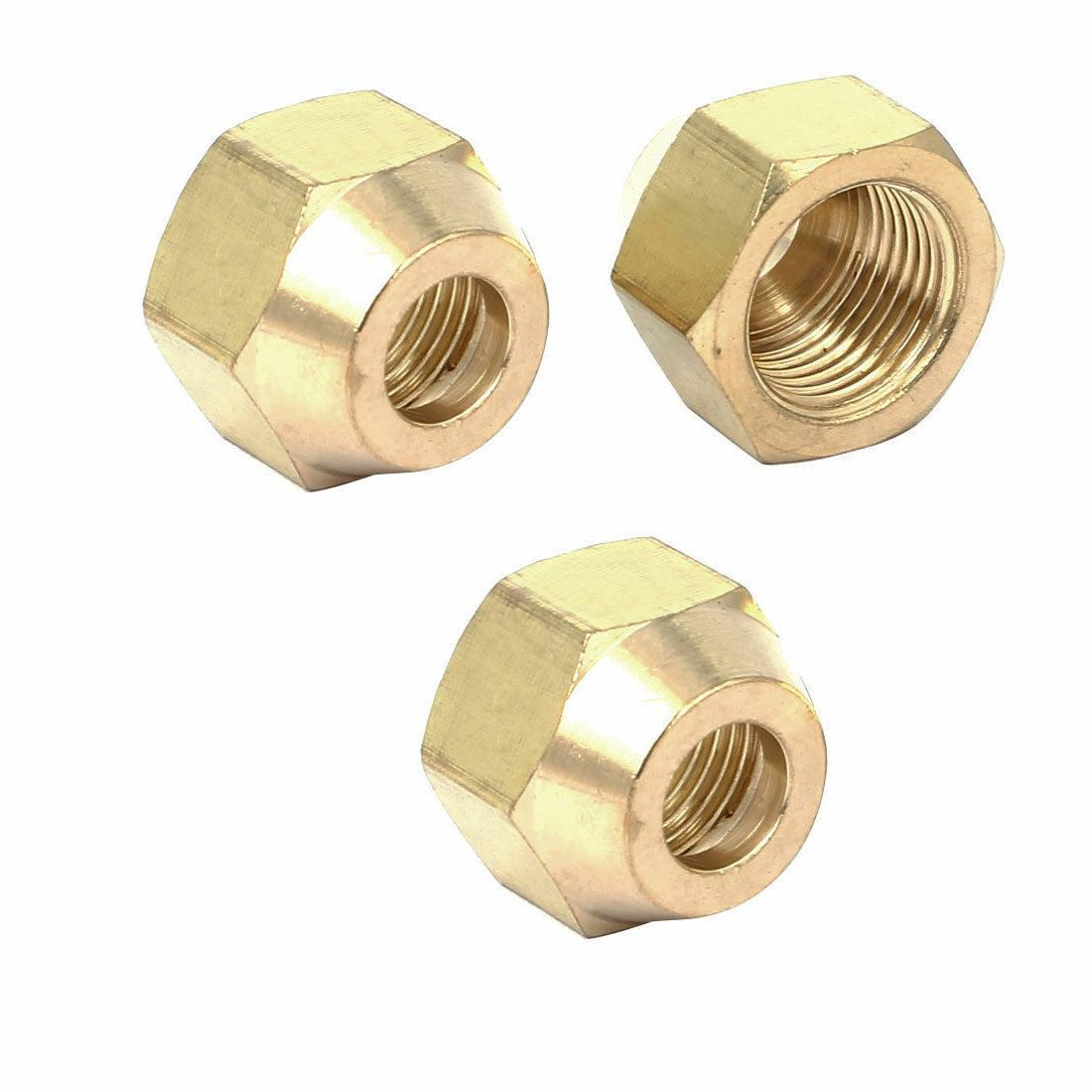 Female Nuts Air Conditioner Fittings 10pcs