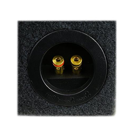 "0.30 ft^3 Sub Single Audio W3v3 Subwoofer - 3/4"" - Made in"