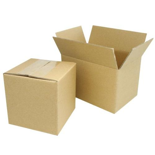 50 10x8x4 corrugated cardboard packing boxes mailing