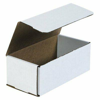 50 7x4x3 white shipping boxes mailers small