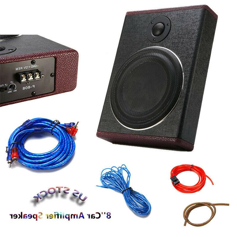600w 8 inch car under seat subwoofer