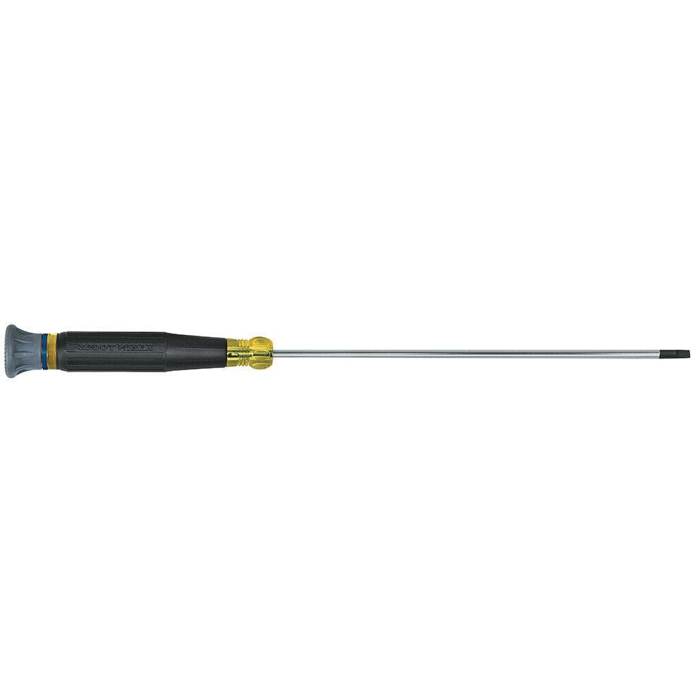 Klein Tools 614-6 1/8-Inch Slotted Electronic Screwdriver 6-