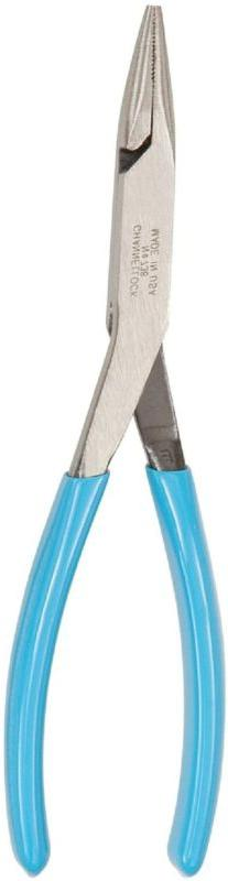 Channellock 738 8-Inch Needle Nose Long Reach Plier