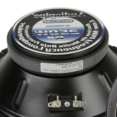 Audiopipe 8 Watt Low Mid Frequency Midwoofer