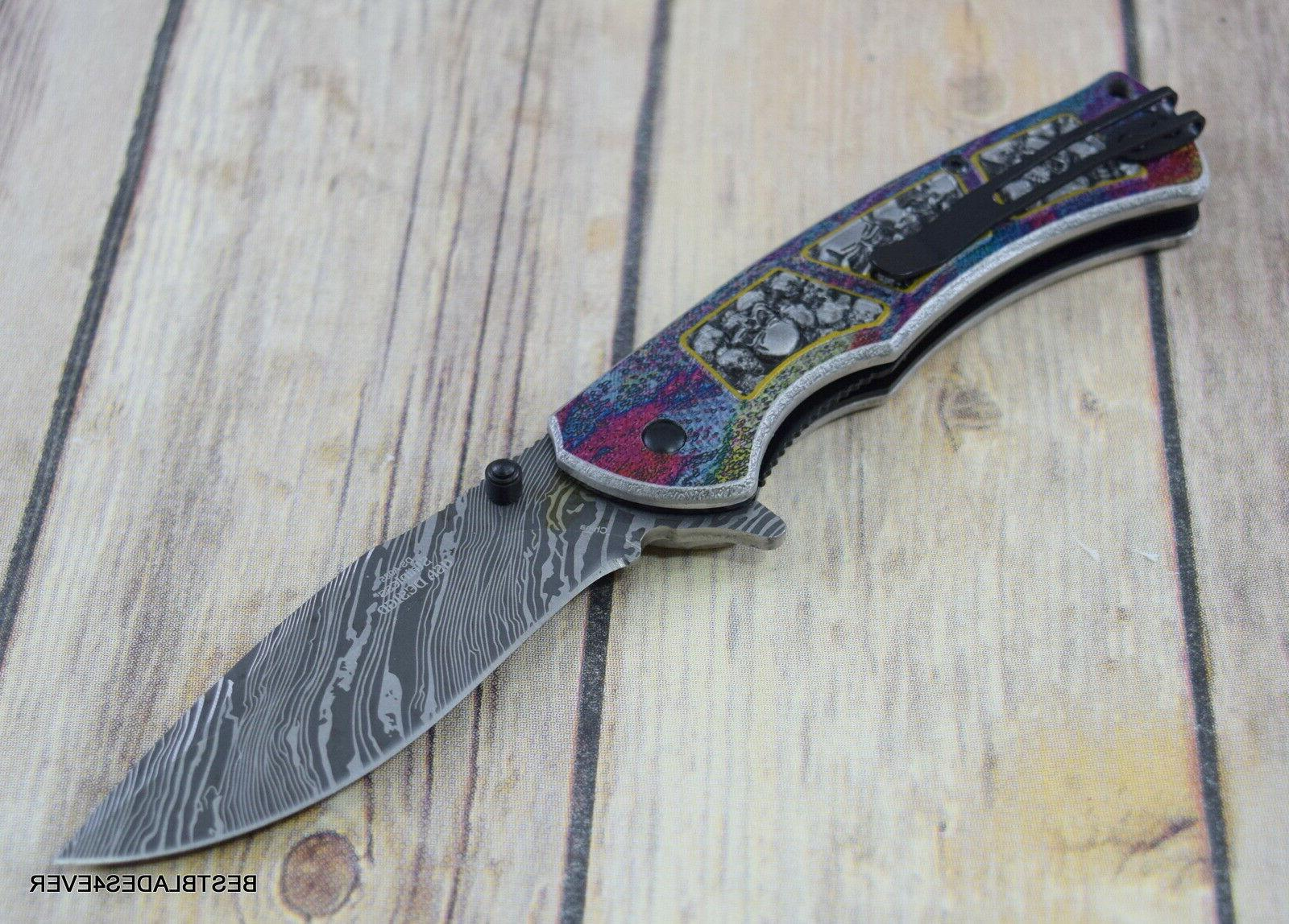 8 BLADES FANTASY ASSISTED KNIFE WITH